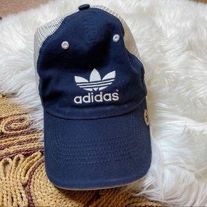 Dark Blue Adidas Trucker Hat